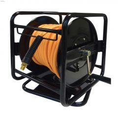 "Ecoflex 1/4"" MNPT x 100' Polyester Hose Reel"