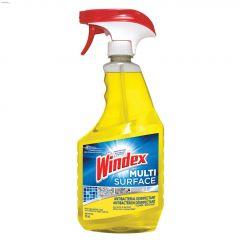 Windex 765 mL Yellow Citrus Fragrance Antibacterial Spray