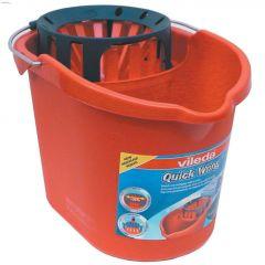 Quick Wring 12 L Plastic Red Pail & Wringer
