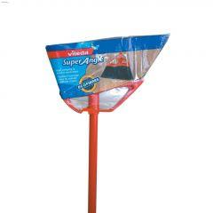 "Super Angle 48"" Handle Red Broom"