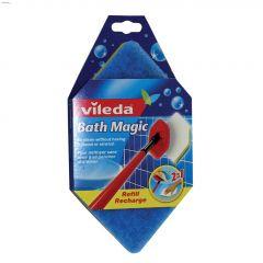 Bath Magic Red 2-In-1 Sponge Mop Refill