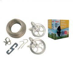 Strata 150' Gold Heavy Duty Clothesline Kit