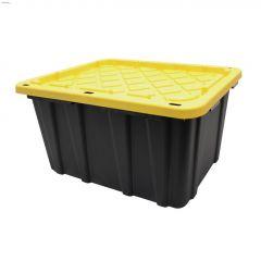 102 L Black/Yellow Plastic Strong Box