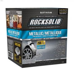 RockSolid 2 L Silver Bullet Metallic Floor Coating Kit
