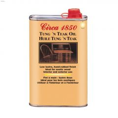 Circa 1850 1 L Hand Rubbed Tung & Teak Oil
