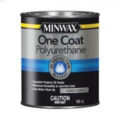 946 mL Gloss Clear One Coat Wood Stain
