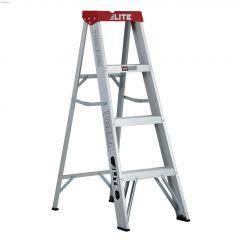 4' Aluminum Type 3 Household Step Ladder