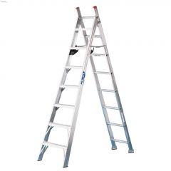 8' Aluminum Type 2 2-Way Combination Ladder