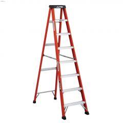 8' Fiberglass Type 1A Step Ladder