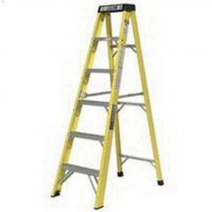 12' Yellow Fiberglass Type 1A Step Ladder