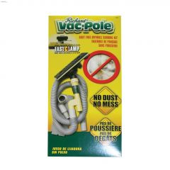 """9"""" x 3-1/4"""" Vac-Pole Sanding Unit With EasyClamp System"""