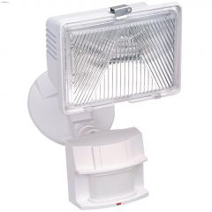 180 Degree 250 Watt White Motion-Activated Security Light