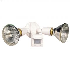 110 Degree 300 Watt White Motion-Activated Security Light