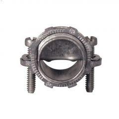 """3/8"""" Zinc Saddle Connector-5/Pack"""