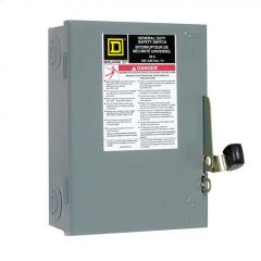 30A 120/240VAC DP General Duty Disconnect Safety Switch