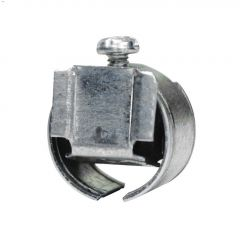 """3/8"""" Steel Squeeze Connector-5/Pack"""