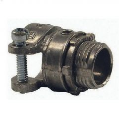 "1/2"" Zinc Squeeze Connector-2/Pack"