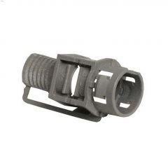 "1/2"" Plastic Snap-In Connector-5/Pack"