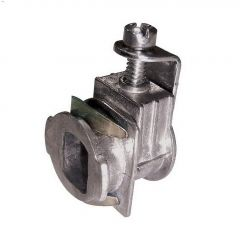 "3/4"" Zinc Saddle Connector"