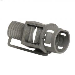 "1/2"" Plastic Snap-In Connector-50/Pack"