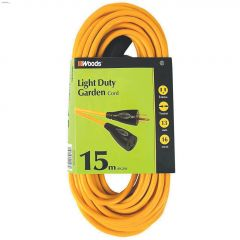 1 Outlet 16 AWG 3C 15 m Yellow Landscape Cord