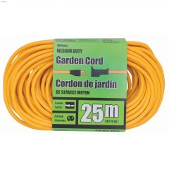 1 Outlet 16 AWG 3C 25 m Yellow Landscape Cord