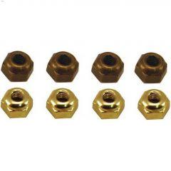 Brass & Antique Brass Assorted Acorn Nut