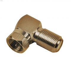 Gold Plated Right-Angle Coaxial Connector