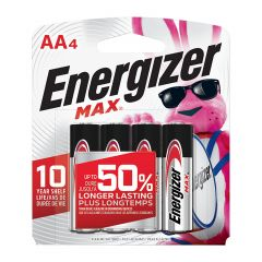 Max 1.5V AA Alkaline Battery-4/Pack