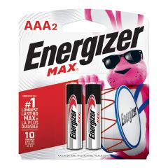 Max 1.5V AAA Alkaline Battery-2/Pack
