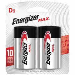 Max 1.5V D Alkaline Battery-2/Pack