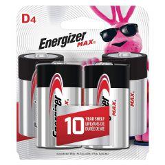 Max 1.5V D Alkaline Battery-4/Pack