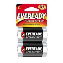 Eveready 1.5V C Super Heavy Duty Battery-2/Pack