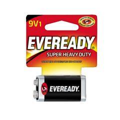 Eveready Super Heavy Duty 9V Battery-1/Pack