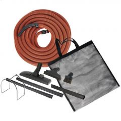 50' Central Vacuum Garage & Car Care Kit