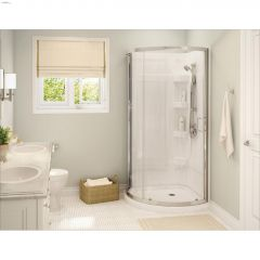 Cyrene Clear Corner Shower Kit