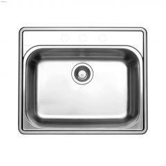 """Essential 1 25"""" x 20-7/8"""" Satin Brushed Kitchen Sink"""