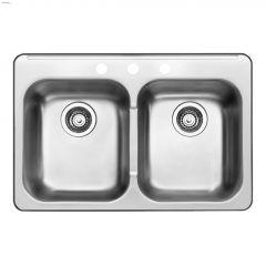 """Upgrade 8"""" Stainless Steel 31.5"""" X 20.5"""" kitchen sink"""