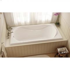 Cocoon 6636 End White Microjet Bathtub