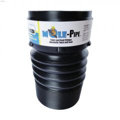 1' Black Expandable Solid Pipe