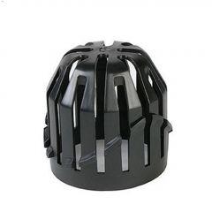 Black Plastic Atrium Leaf Guard