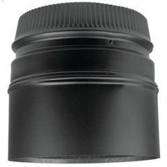 "6"" x 5-3/4"" Black Stove Adapter"