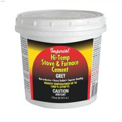 3 lb Tub Grey High Temperature Stove & Furnace Cement