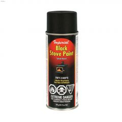 340 g Aerosol Can Black Stove Paint