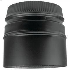 "7"" x 5-3/4"" Black Stove Adapter"