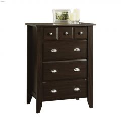 Shoal Creek Jamocha Wood 4 Drawer Chest