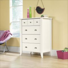 Shoal Creek Soft White 4 Drawer Chest