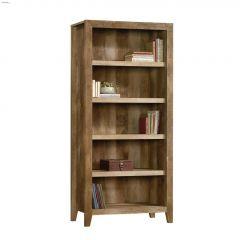 """Dakota Pass 33-3/4"""" Craftsman Oak 5-Shelf Bookcase"""