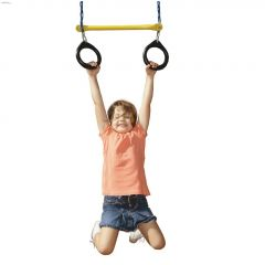 115 lb Blue (Chain) Ring & Trapeze Combo Swing