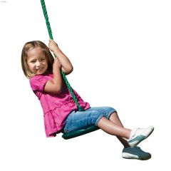 115 lb Green Disc Swing With Rope